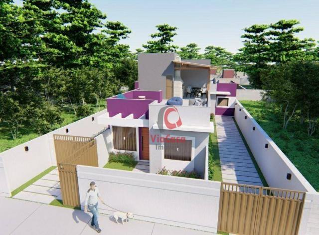 Lindas casas com 2 quartos sendo 1 auíte com terraço gourmet perto da pista !!! - Foto 2