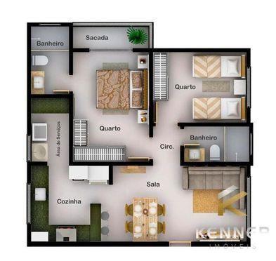 Apartamento à venda no bairro Rosário - Patos de Minas/MG - Foto 6