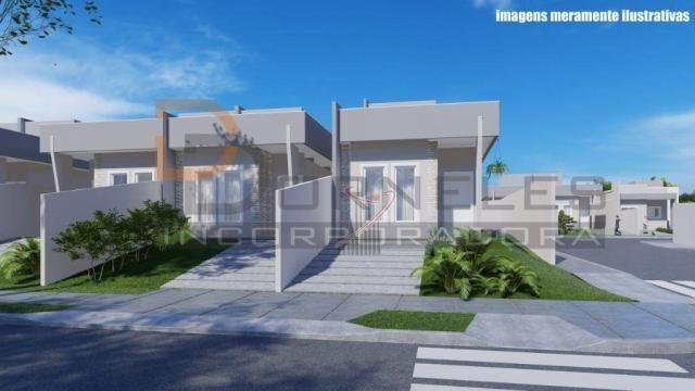 Casa recém construída no Jd. Cataratas com 2 quartos, amplo quintal - apta para financiame - Foto 4