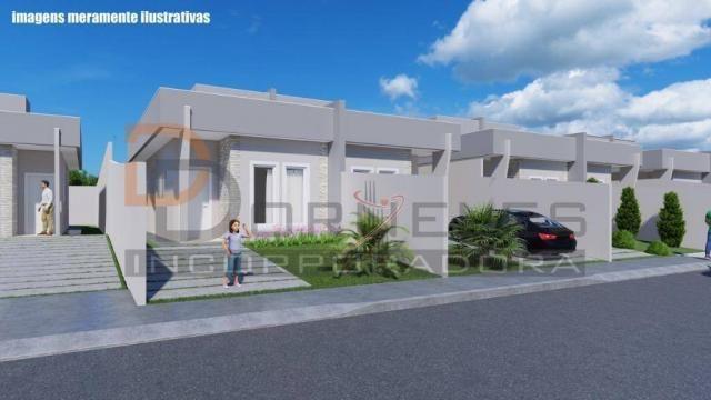 Casa recém construída no Jd. Cataratas com 2 quartos, amplo quintal - apta para financiame - Foto 6