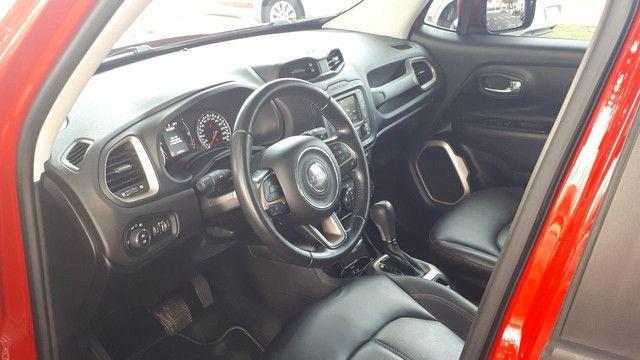 Jeep Renegade Longitude couro revisado impecável! - Foto 5