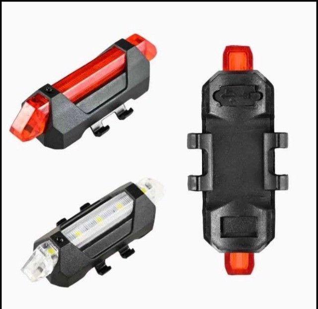 Sinalizador LED Bike - Foto 4