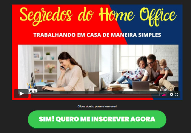 o segredos do home office