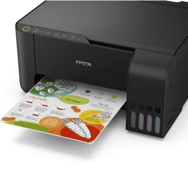 Impressora Multifuncional Epson L3150 Jato De Tinta Ecotank Colorida, Wifi, Bivolt - Foto 3