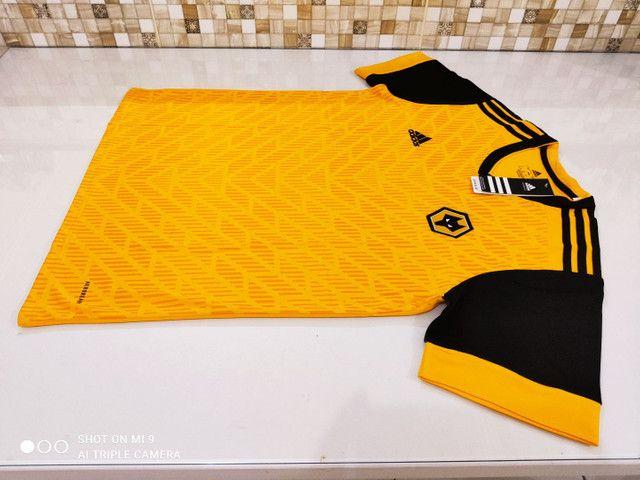 Camisa Wolverhampton Home Adidas 20/21 - Tamanho: G - Foto 5