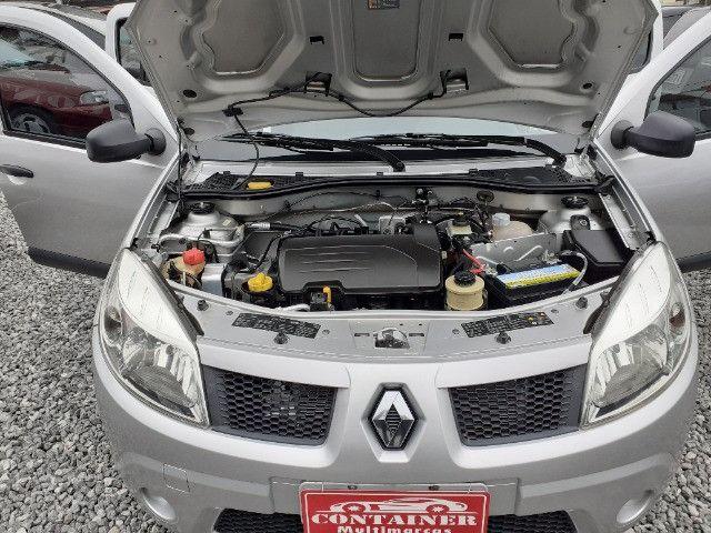 Renault Sandero Exp 1.0 ano 2010 Top - Foto 5
