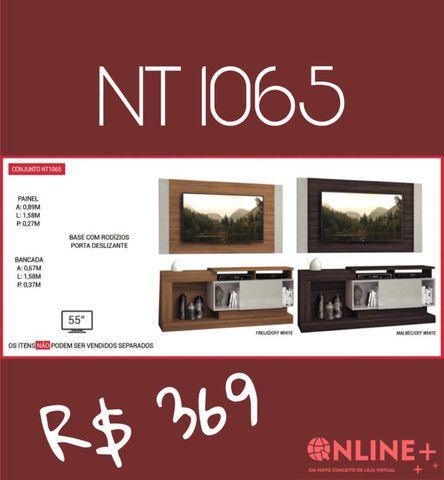 Conjunto bancadas e painéis NT 1065