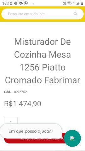 Misturador Fabrimar Piatto Novo R$ 900,00 - Foto 2