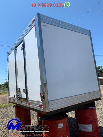 Bau frigorifico 2.80m kia bongo e hr novos instalado Mathias Implementos - Foto 5