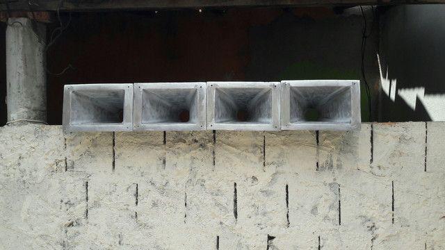 Corneta longa de alumínio fundido escovado semi polida - Foto 2