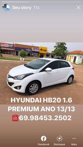 HYUNDAI HB20 PREMIUM 1.6 Ano (2013/2013) - Foto 9