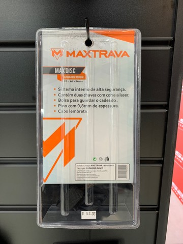 Cadeado de disco Maxtrava Max Disc - Foto 2