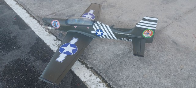 Aeromodelo tucano 1.80 envergwdura - Foto 6