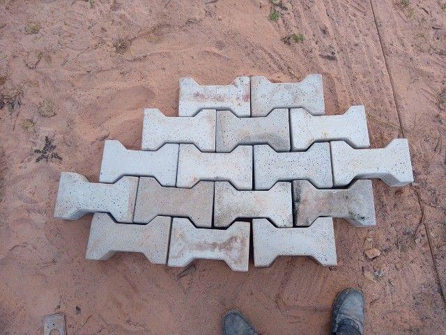 Bloquetes de cimento
