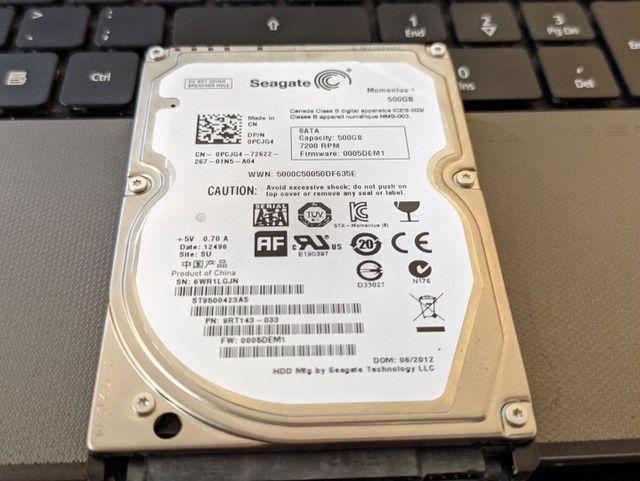 HDD HD Seagate 500 Gb  - Foto 2