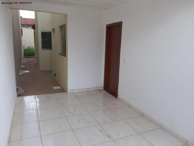 Casa para Venda em Várzea Grande, Jardim Eldorado, 2 dormitórios, 1 banheiro, 2 vagas - Foto 2