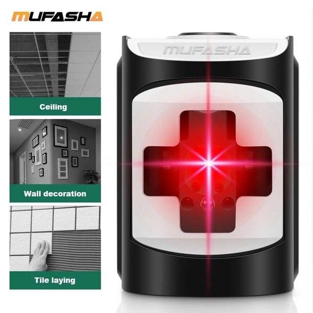Nível automático a laser (vermelho) -> NOVO - Foto 2