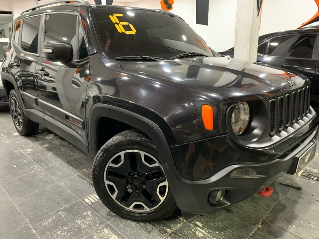 Jeep Renegade Trailhawk 2.0 4x4 Turbo DIESEL 2016  - Foto 9