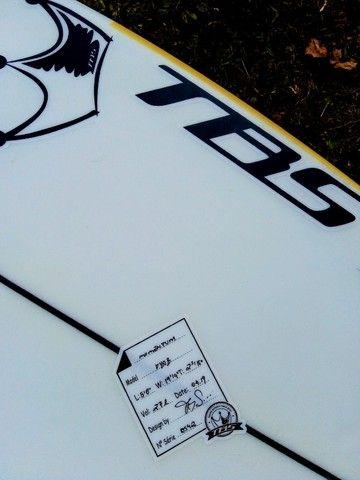 """Prancha de surf 5.8"""" TBS 27 litros"""