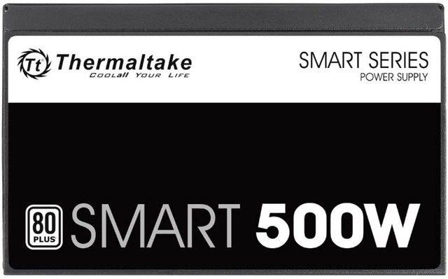 Fonte 500W 80 Plus White,Thermaltake Smart Series,PFC Ativo, Nf e garantia , Entregamos - Foto 2