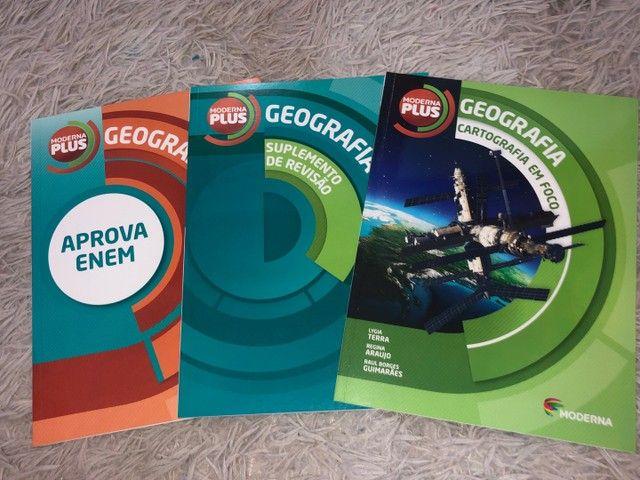 Livros de Geografia (box) - Moderna Plus - Foto 4