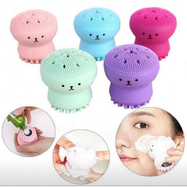 Esponja de limpeza facial     (entrego dependendo do local)