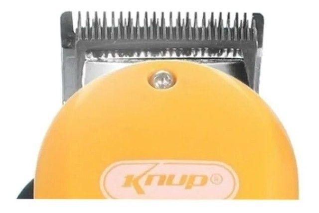 Máquina De Cortar Cabelo Knup Qr-8918 - Foto 3