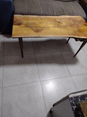 Mesa de madeira rústica  - Foto 2