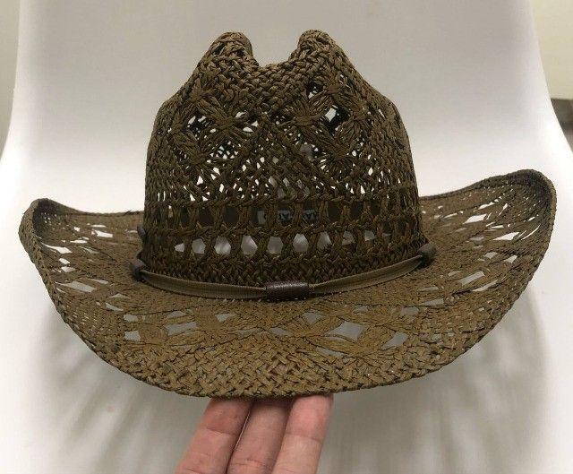 Chapéu Marcatto Original M Flexivel Country Cowboy Cowgirl Novo - Foto 3