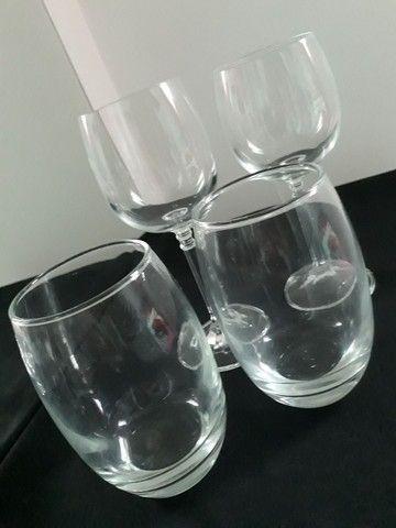 Taças de cristal e Copos de vidro - Foto 4