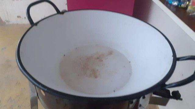 Tacho completo grande para fritura de batata frita e pastel!!! R$ 200 Tem conversa - Foto 2