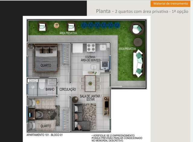//Vista dos Jatobas - 2 Qrts - já more em 2022 - Foto 8