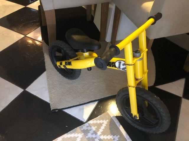 Bicicleta infantil de equilíbrio sem pedal !!! - Foto 3