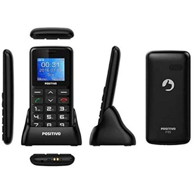 Telefone fixo Celulares Positivo P35 - Preto