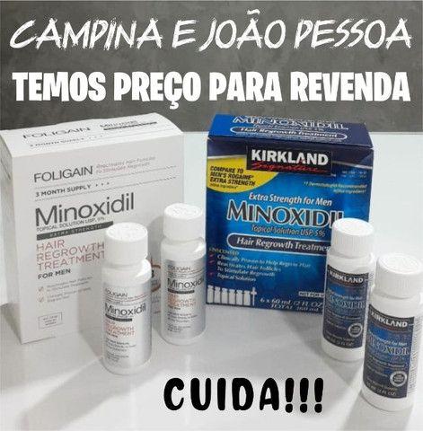 Minoxidil Kirkland e Foligain - Original - Foto 2