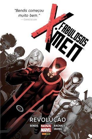 Encadernados Marvel: Fabulosos e Novíssimos X-Men | Novos Vingadores | Justiceiro MAX.