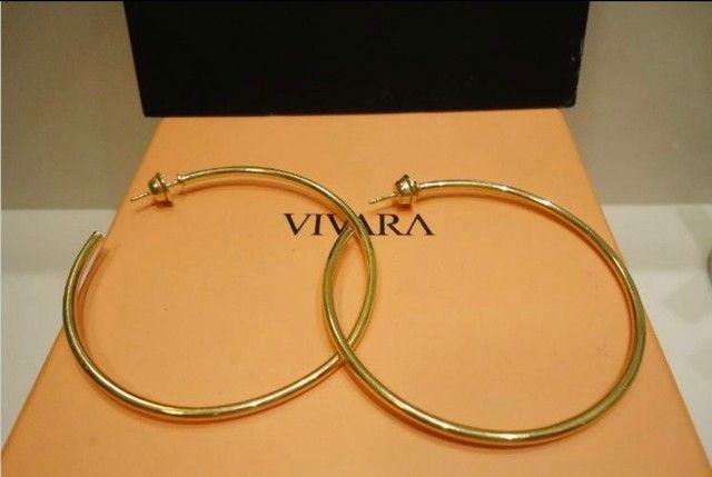 Brincos Angola Vivara em ouro amarelo 18k, com certificado. - Foto 6
