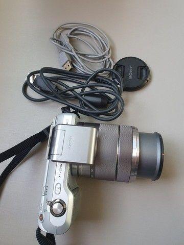 Máquina de fotografia Sony NEX -3 E 18-55mm 14.2 Mega pixels - Foto 5