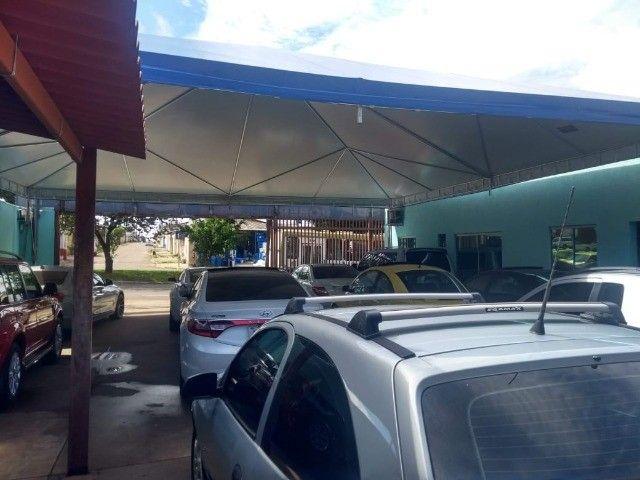 Tenda Piramidal para Proteger o seu Carro  - Foto 3