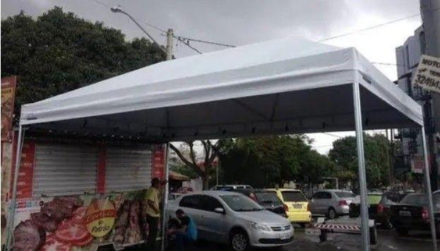 Tenda Piramidal para Proteger o seu Carro  - Foto 4
