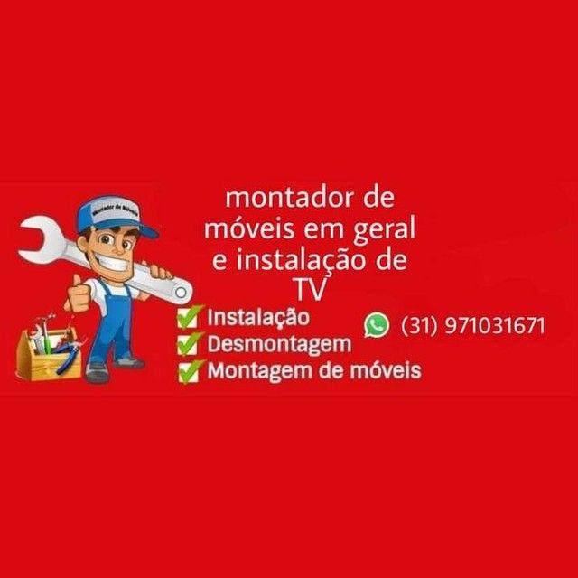 Montador de móveis em geral e instalações em geral