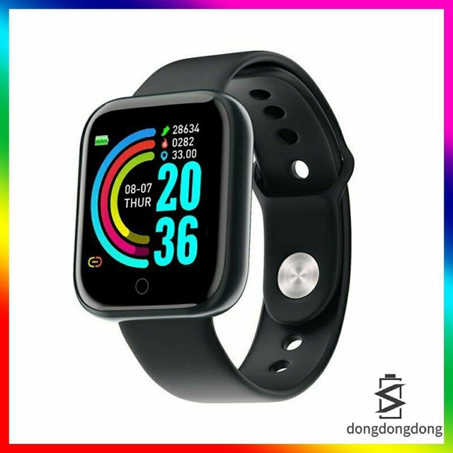 Y68 D20 Smartwatch/Relógio Smart Esportivo com Pedômetro/Monitor - Foto 2