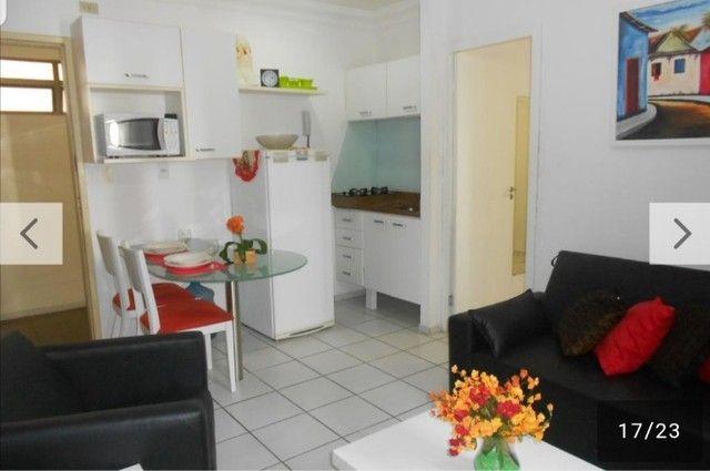 flat 1 quarto mobiliado aluguel temporada  - Foto 3