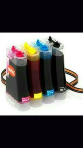 Promoção Bulk Ink HP/ Canon 80,00