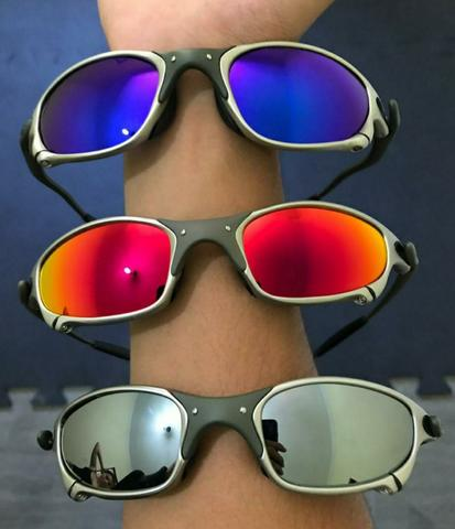 Óculos Oakley Juliet X-Metal lente Polarizada - Bijouterias ... 0c912ac38a
