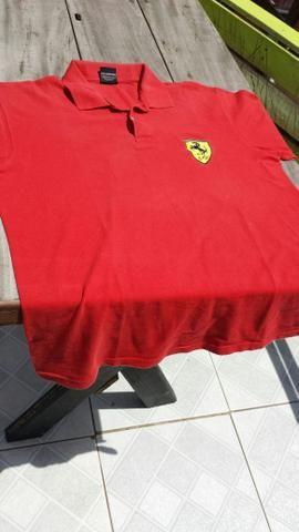 649455596b Camisa oficial da Ferrari 1999 tamanho G 80 reais - Roupas e ...