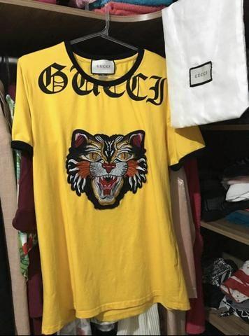 da644ac3d Camiseta gucci Angry cat original c dustbag - Roupas e calçados ...