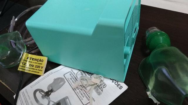 e3e06560c Inalador e Nebulizador Nebular Plus Daru Kit, Bivolt (usado duas vezes)