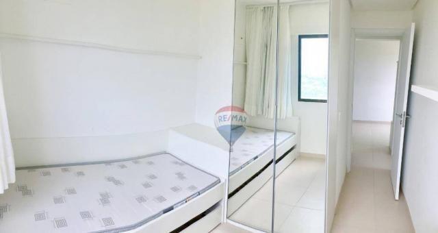 Apartamento com 2 dormitórios à venda, 52 m² por r$ 239.990,00 - ponta negra - natal/rn - Foto 15