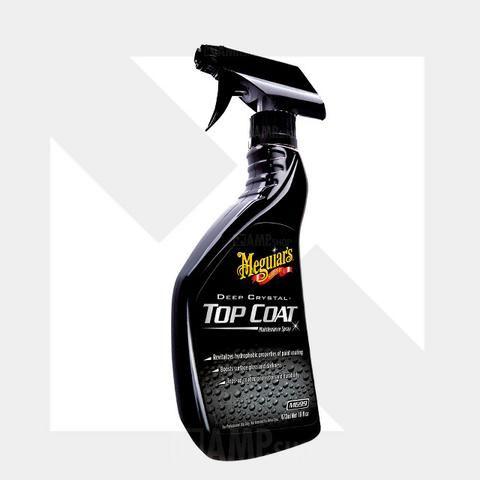 Top Coat Deep Crystal Meguiars M69916 Manutenção Vitrificante Spray